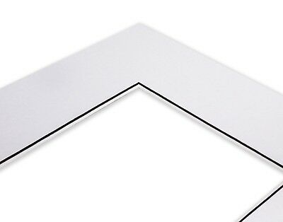 Pack of 5 White  Square Picture Photo Mounts/ Photo Frames Various Sizes 4