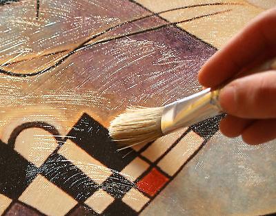 Quadro Moderno Klimt IL Bacio Stampa su Tela Canvas Vernice Pennellate a Rilievo 2