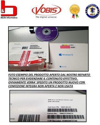 Windows 10 Professional Dvd Ita Pack Pro Italiano 32 64 Bit Software Originale 2