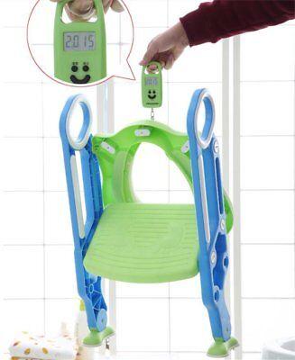 Bébé Formation Siège de Toilette échelle marches pliable Enfant WC Pot éducatif 10