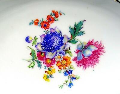 "Schwarzenhammer Baviera #SWH4 Centro Floral Perforado Ovalado 8"" Bol 1946-1949 2"