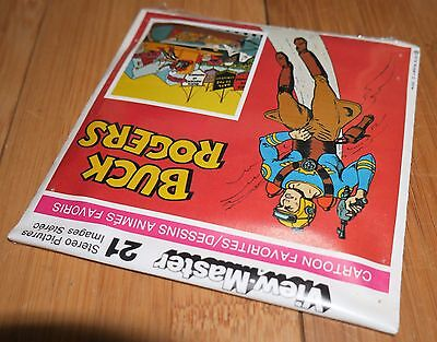 MINT FACTORY SEALED BUCK ROGERS 1978 GAF VIEWMASTER REELS RARE