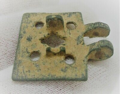 Detector Finds Ancient Roman Bronze Amulet With Ring And Dot Motifs 3