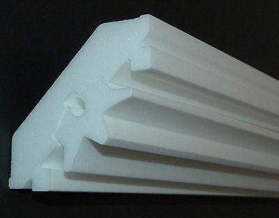 Stuckleiste Stuckprofil Dekorprofil Kabelprofil  Beleuchtung LED 40x12 3,40€//m