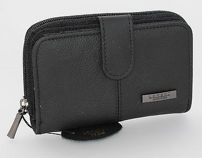 aa9e05543c65 LADIES LORENZ LEATHER Purse Wallet Zip Around Photo Space Card Holder Gift  Box*