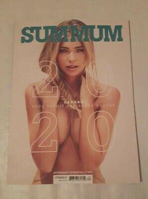 Sandra Kubicka , Summum Magazine , December / January  2020 2