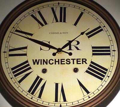 Southern Railway SR Historic Style Station Clock, Winchester Station 2