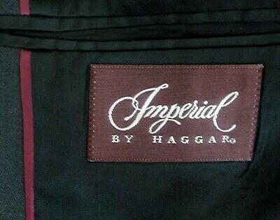IMPERIAL Men's (Size 44L) Dark Gray 2 Button Sport Coat Blazer Suit Jacket Wool 4