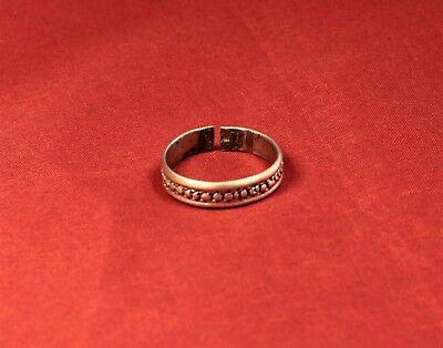 Post Medieval Silver Finger Ring 2