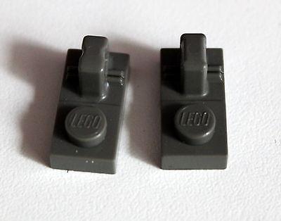 Lego 30383 10 Scharnier Unterteile 1x2 1 Finger in dunkelgrau aus 4495 7041