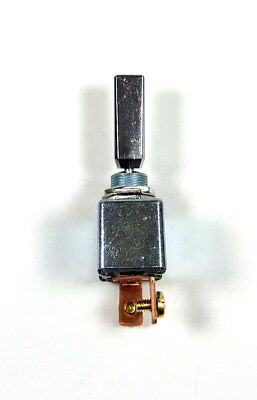 High Current 50 Amp 12V DC Automotive Chrome Toggle Switch SPST On-Off Marine