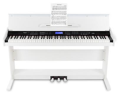 88-Tasten Digital E-Piano Beginner Home Keyboard Klavier 3-Pedale USB Weiß 4