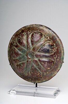 Ca.  6th - 4th  Achaemenid Bronze Mesomphalos 2