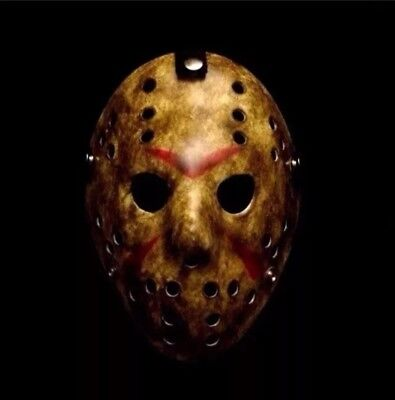 Friday The 13th Hockey Mask Costume Jason Voorhees Horror USA SELLER FAST SHIP 2