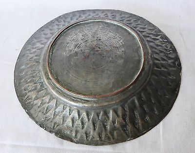 Antique COPPER Metal Dish Tray Soldier Army Serving – Goth Medieval 1700s, Greek 5