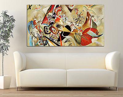 Quadro moderno astratto Kandinsky Arredamento Arte Arredo Casa Stampa su tela 2