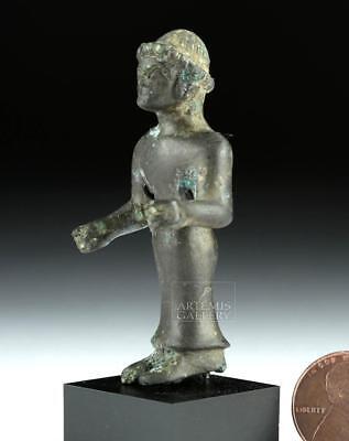 Etruscan Bronze Figure of Charioteer Lot 35C
