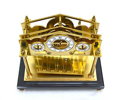 8 Day Miniature English William Congreve Rolling Ball Clock with Marble Base 5