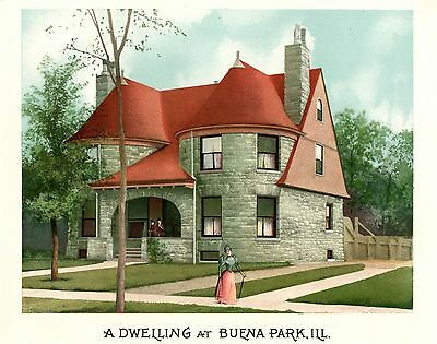Buena Park, Ill   - Scientific American Architects and Builders Edition - 1894 2
