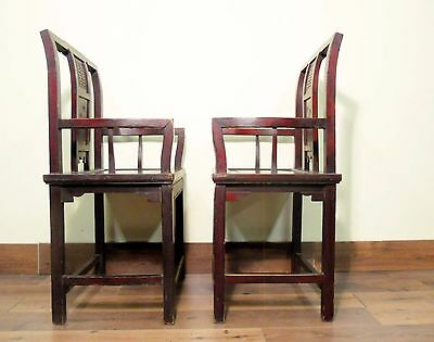 Antique Chinese Arm Chairs (5518), Circa early of 19th century 9