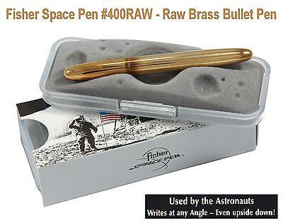 Fisher Space Pen #400RAW / Raw Brass Classic Bullet Pen 3
