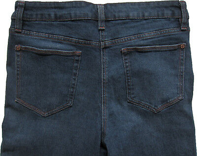 New Womens Blue Crop Ankle Wide Leg NEXT Jeans Size 16 14 12 10 6 RRP £28 9