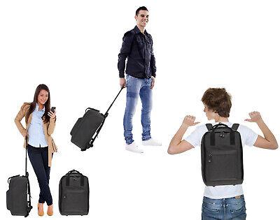 Handgepäck Rucksack Trolley Worldpack Reisetasche Weekender 30328-0100 Schwarz 7