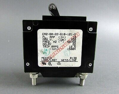 Carlingswitch 10A Circuit Breaker CA1-X0-05-352-6D2-MG
