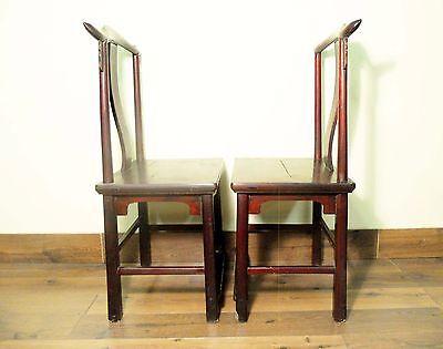 Antique Chinese High Back Chairs (Pair) (5767), Circa 1800-1849 10