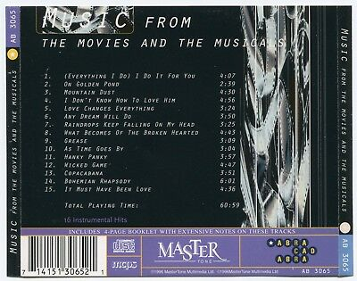 [Bee Gees Cover] Covertones~Music From The Movies & The Musicals~Uk 15-Track Cd 3