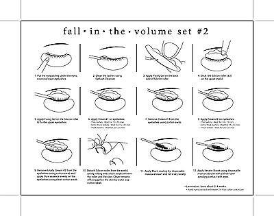 Fall Into The Volume Lash Lift Lifting Perming Kit SET 2 KERATIN - Lash Perm Kit 3