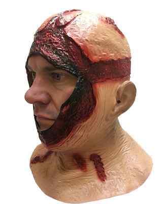 Copricapo Jason Sanguinoso Maschera Cappuccio Latex Costume di Halloween Horror 2