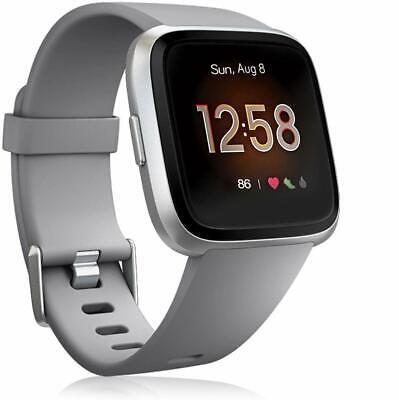 For Fitbit Versa 2/Versa Lite/Versa Replacement Silicone Sport Watch Band Strap 4