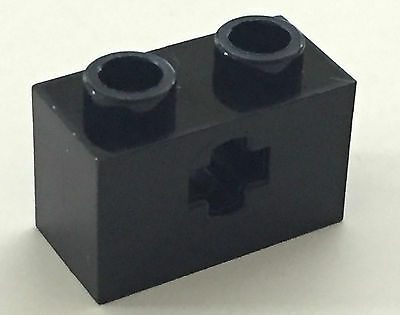 4x Brick Brick 1x2 Axle hole hole axe white//white 32064 NEW Lego Technic