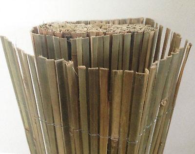 10m x 2m Bamboo Slat Screening -  Screen Roll -  Fence - Garden Fencing Fence 4