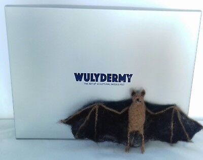 Bat Needle Felt Kit British rare breed wool BOXED 3