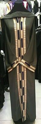 Women open  front abayas.latest model.size 54.56.58 .japanese  neda/linen 3