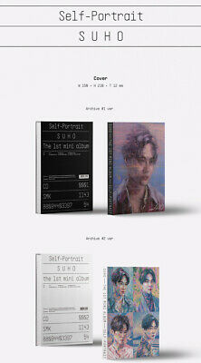 SUHO [자화상/SELF PORTRAIT] 1st Mini Album CD+POSTER+Photo Book+Post Card Set+2Card 6