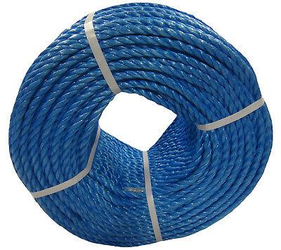 Blue Poly Rope Coils, Polyrope, Polypropylene, Nylon, Polyprop, Tarpaulins 3