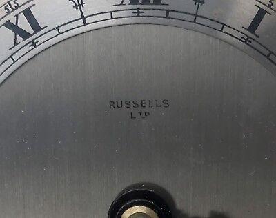 ELLIOTT LONDON Walnut & Burr Walnut Bracket Mantel Clock RUSSELLS LTD 11