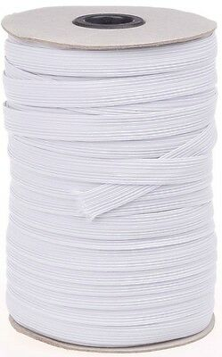 Elastic White 1/2 Inch 12Mm Wide, Choose Length, Art 34, Free P&P 2
