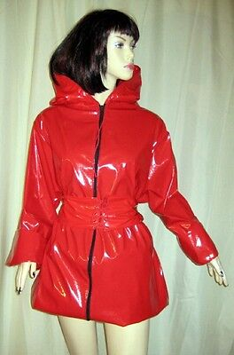 Lackanzug, Hosenanzug,Saunaanzug, Zweiteiliger Anzug,Vinylsuit,Saunasuit 9