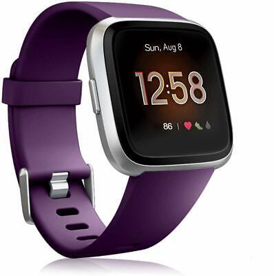 For Fitbit Versa 2/Versa Lite/Versa Replacement Silicone Sport Watch Band Strap 3