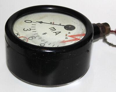 Antikes Amperemeter aus Röntgenanlage 30er Jahre Medizin Design Deko XXL selten