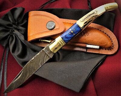 T6bl//hi Damastmesser LAGUIOLE-Laguiole Taschenmesser-Damast taschenmesser-22cm-