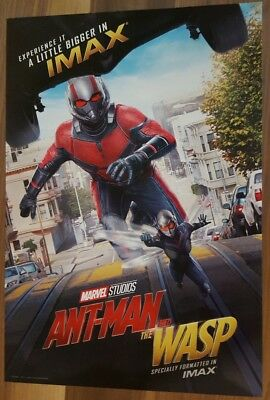 """Marvel Studios ANT-MAN AND THE WASP Official Movie 13"""" x 19""""  IMAX Poster-HTF 9"""