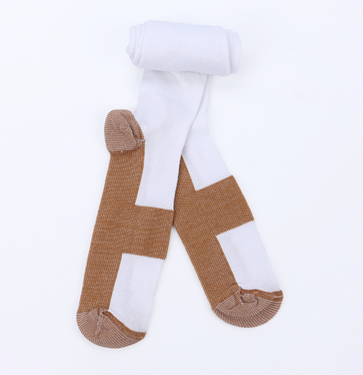 Copper Compression Stockings 20-30mmHg Support Socks Miracle Calf Men's Women's 8