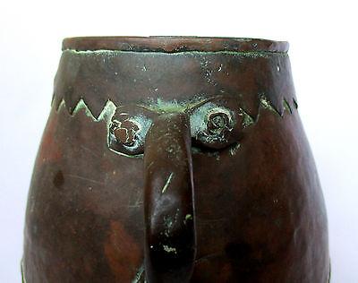 1700's, Rare Ancient 1.4kg Copper Casting Pot , Islamic Ottoman Mamluk Style 4