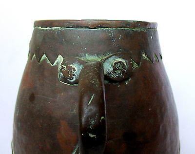 1700's, Rare Antique 1.4kg Copper Casting Pot , Islamic Ottoman-Mamluk