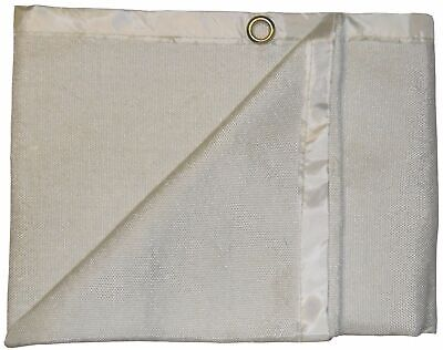 Light Duty 3m x 2m 600°C Glass Fibre Coated Welding Blanket / Fire Blanket EN476 2
